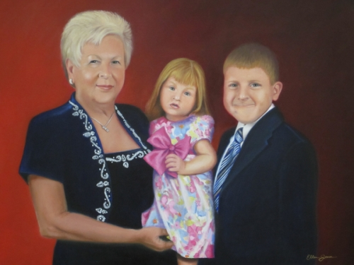 Betty Fritz and Grandchildren