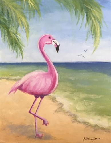 Flamingo in Paradise
