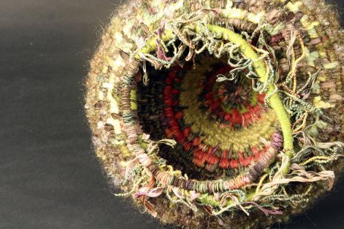 Sea Anemone Basket #3 (inside)