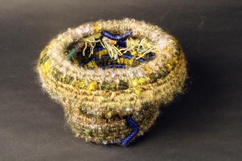 Sea Anemone Basket #4 (closed)