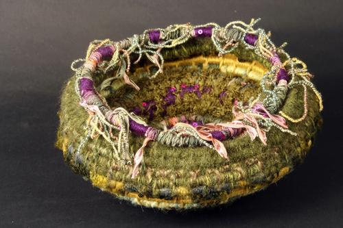 Sea Anemone Basket #5 (open)