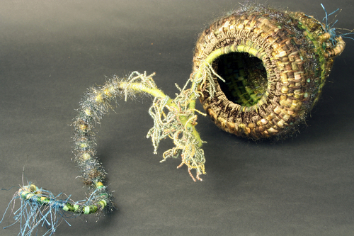 Sea Anemone Basket #6 (open)