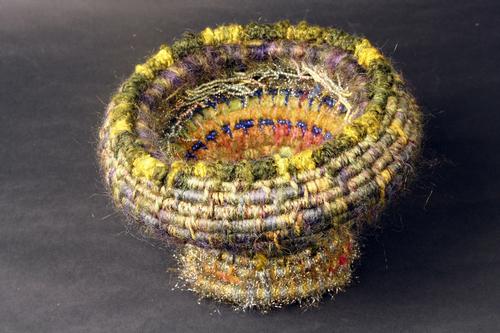 Sea Anemone Basket #7 (closed)