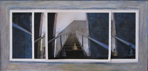 Stair Variations, Quirpon Island Lighthouse I