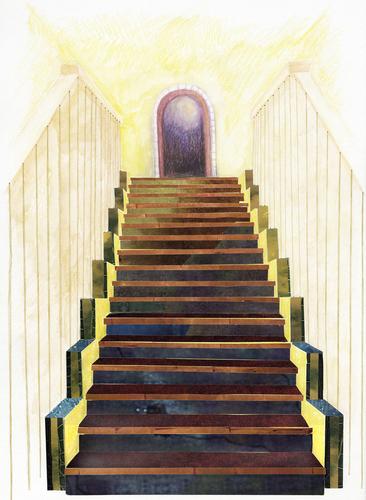 Stairs III by Ellen Weisbord