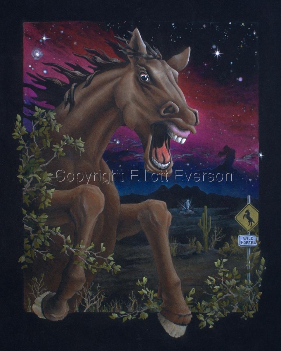 Horsin' Around by Elliott Everson (large view)