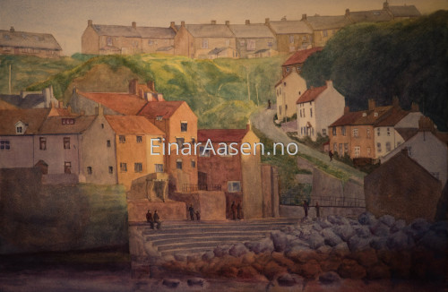 Evening Staithes