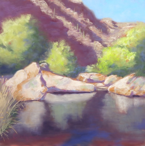 Sabino Canyon Reflections by Emely McConkey