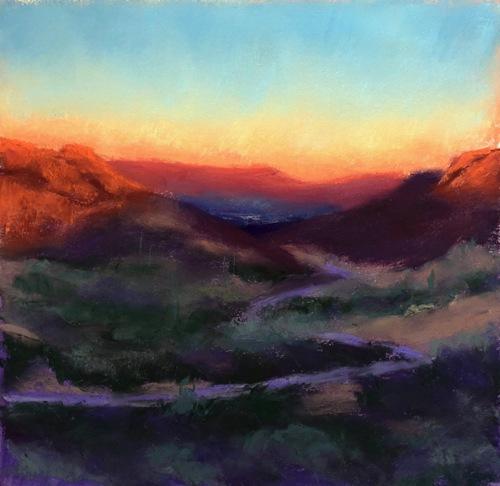 Gates Pass Sunset