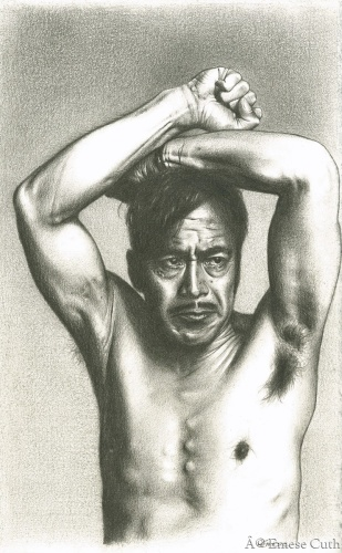 Toshiro Mifune by Emese Cuth