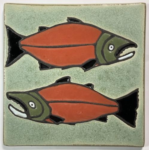 "6"" Salmon by Alaskan Artist"