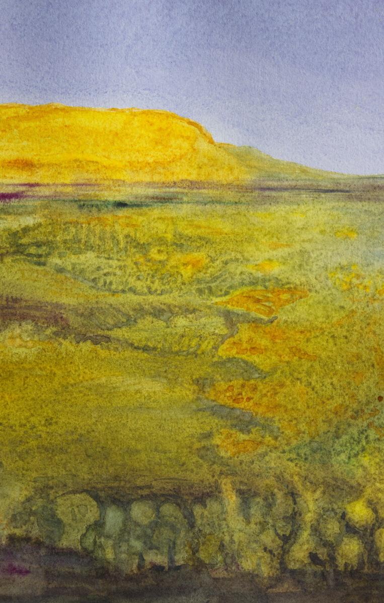 Yellow Mesa II (large view)