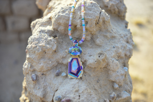 Abstract Kachina Necklace