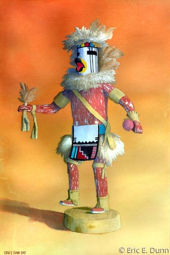 White Falcon Kachina