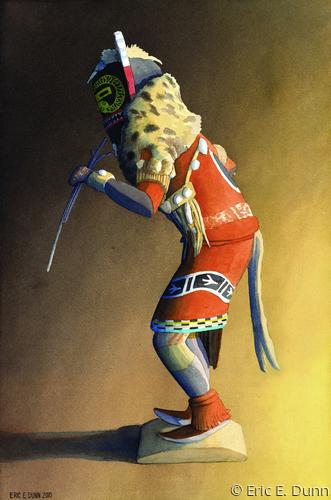 Snake Whipper Kachina