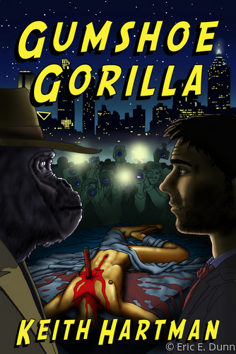Book Cover <br> Gumshoe Gorilla