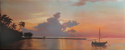 Evening on St. John