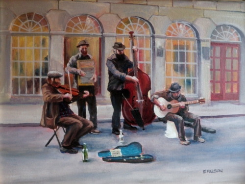 Street Musicians by Eric Palson