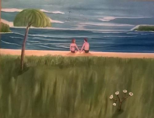 beach lover by Evans Robinson Jr.