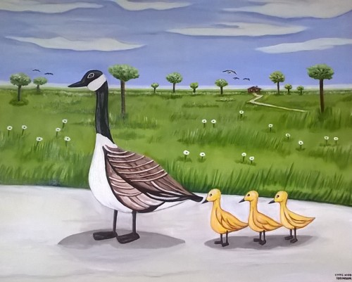 family stroll  by Evans Robinson Jr.