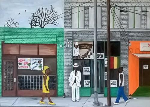 Auburn ave. by Evans Robinson Jr.
