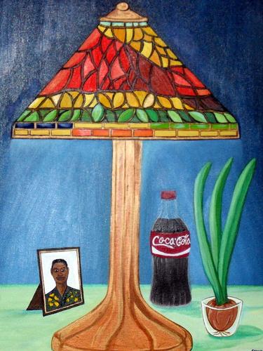 TIFFANY LAMP by Evans Robinson Jr.