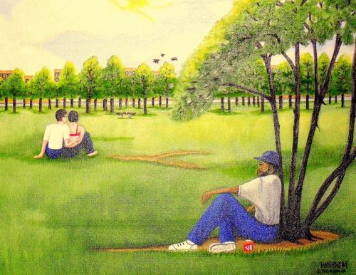 piedmont park by Evans Robinson Jr.