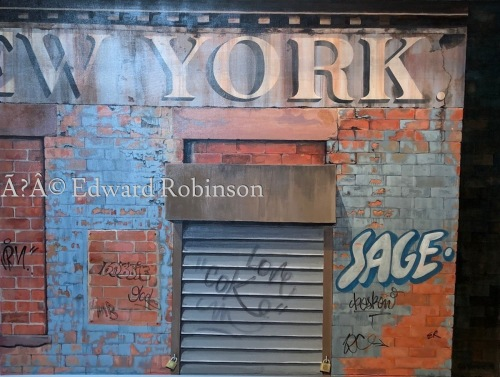 NEW YORK GRAFFITI by Ed Robinson