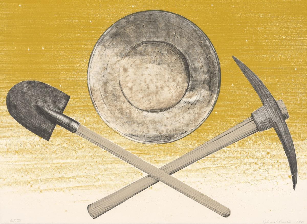 Pick, Pan, Shovel - Ed Ruscha