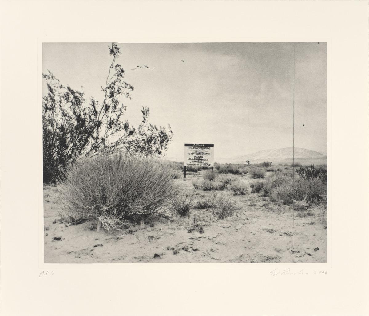 Desert Gravure (large view)
