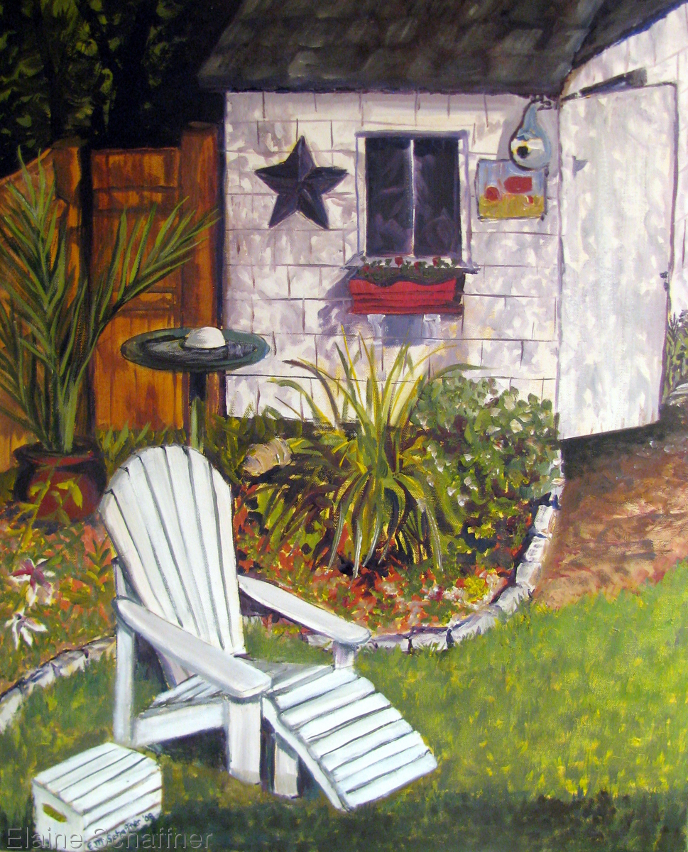 Backyard Corner (large view)