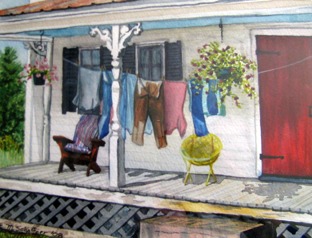 Laundry Day, Maine (large view)