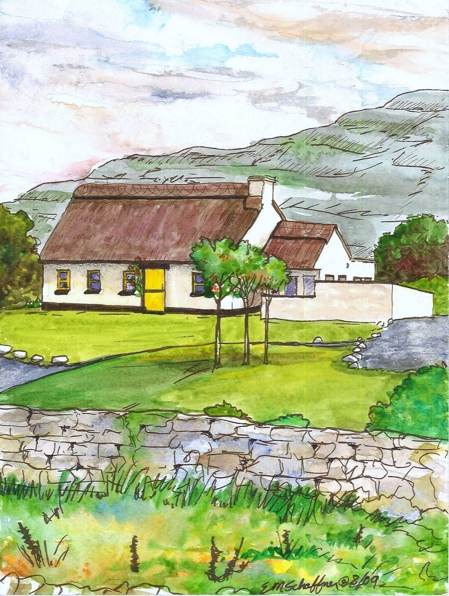 Our Cottage at Ballyvaughan, Ireland (large view)