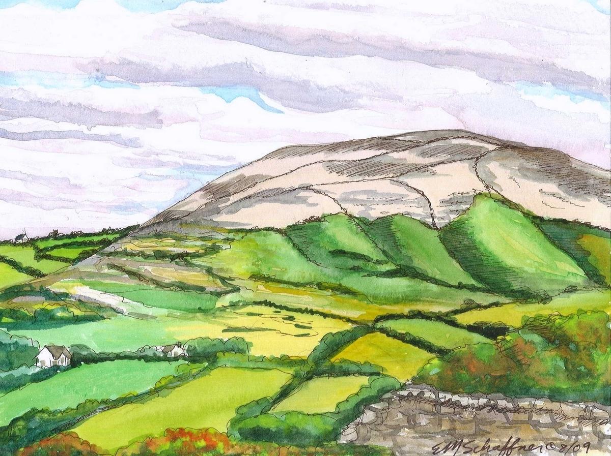 The Burren, Ireland (large view)