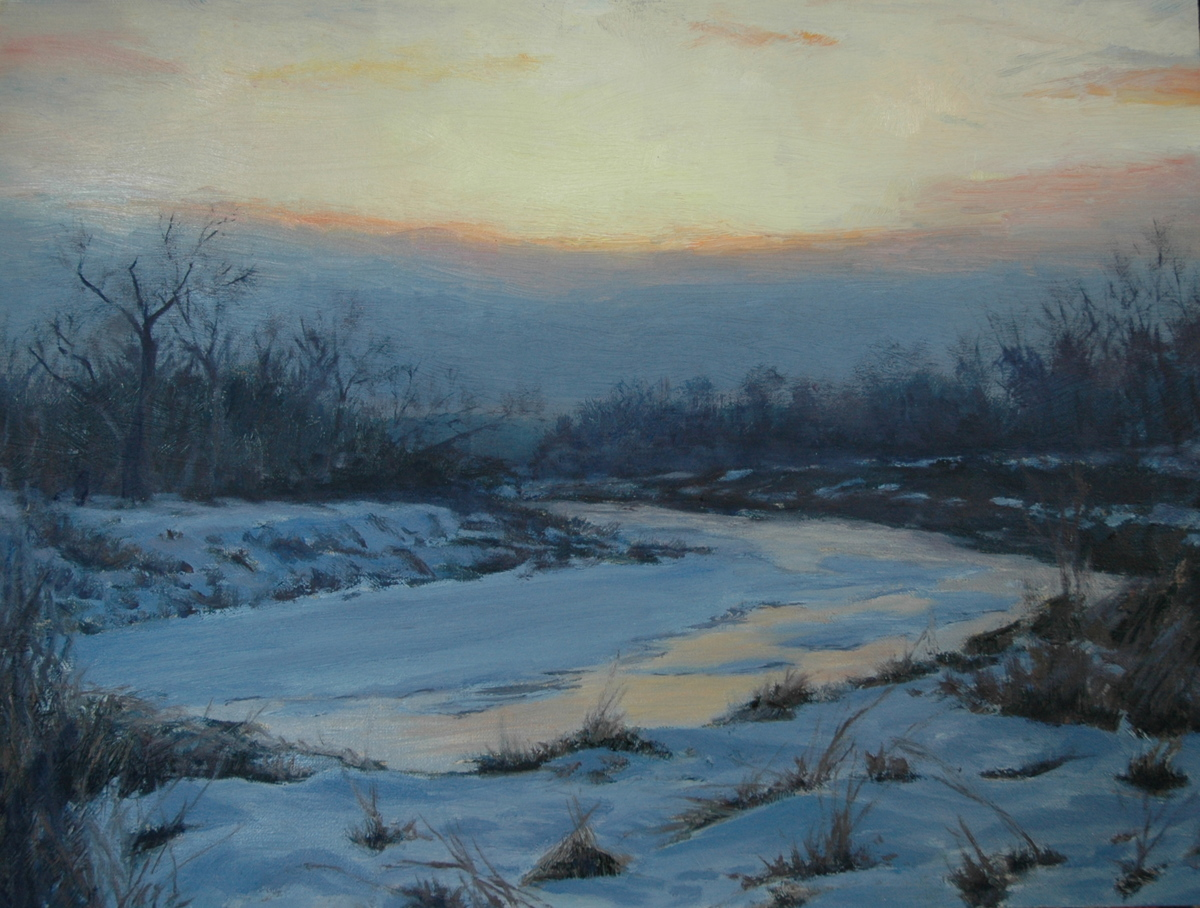 Sunset Beyond the River's Bend (large view)