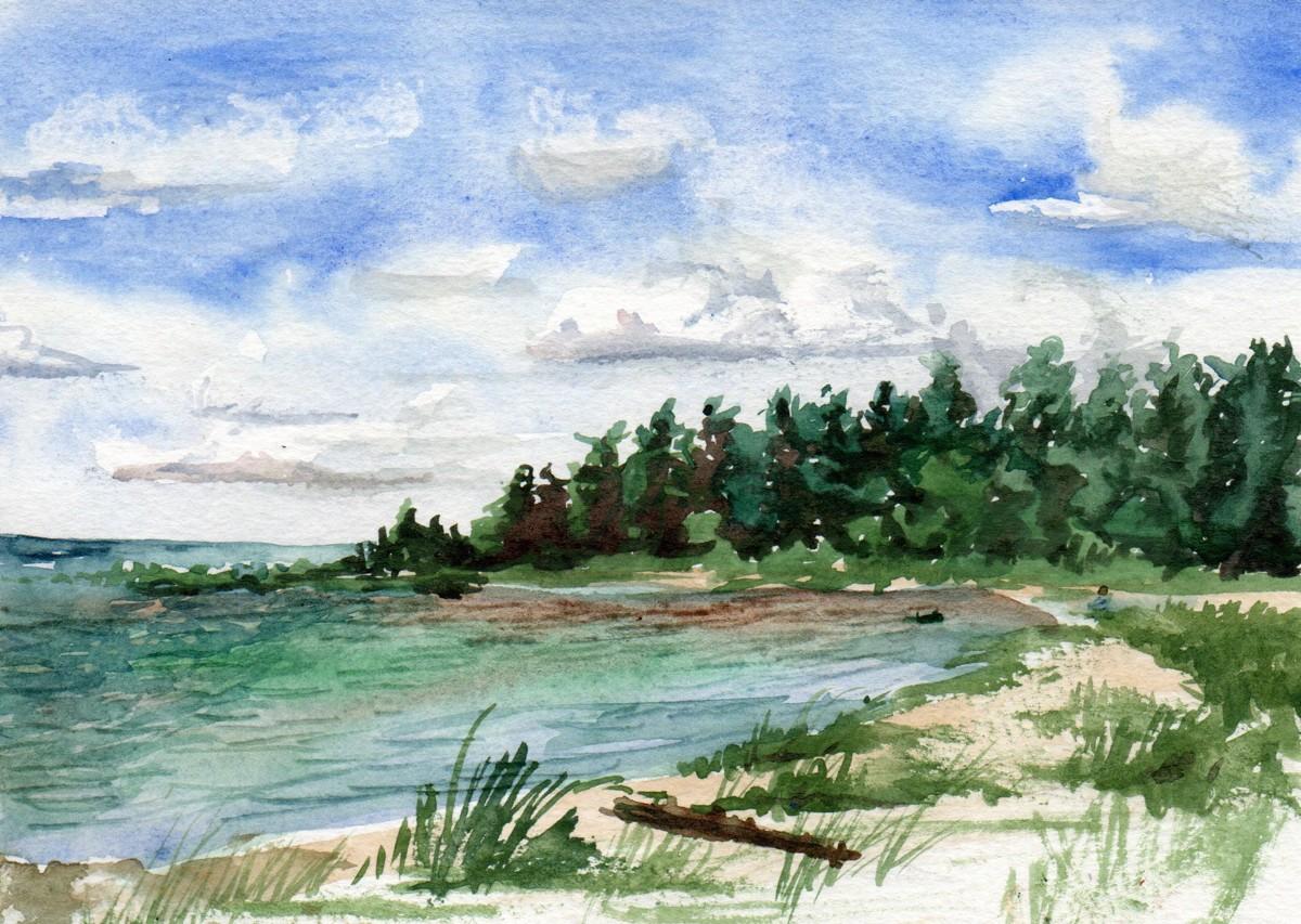 Lake Huron (large view)