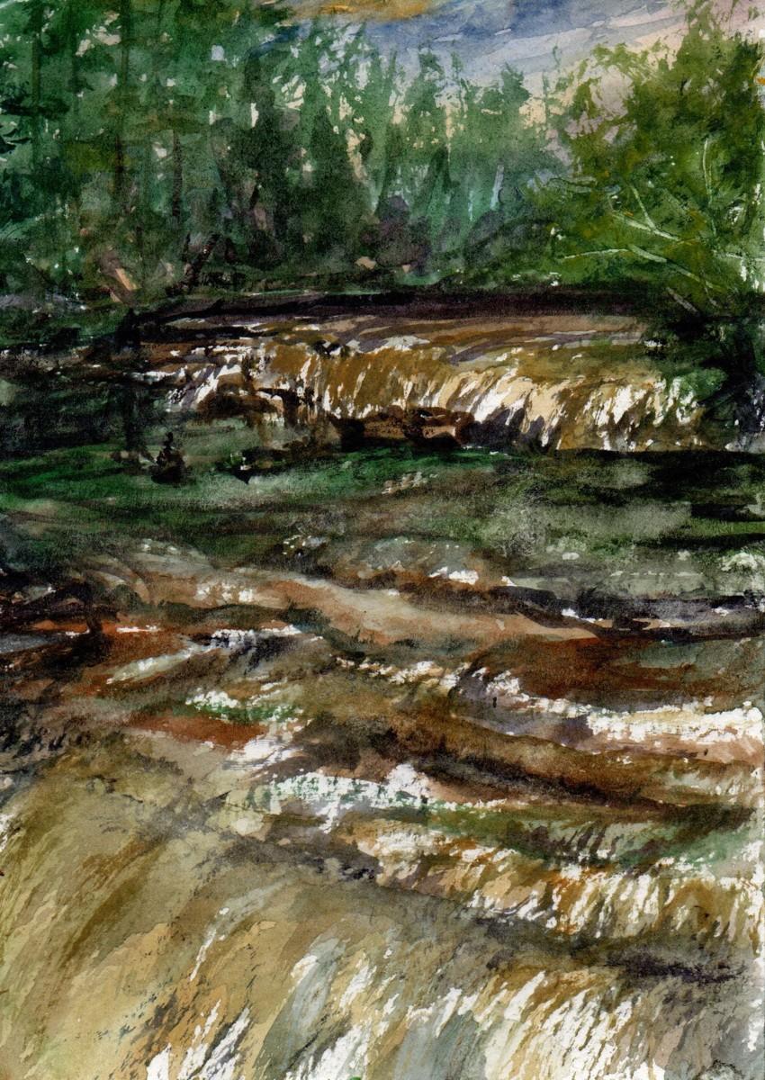Tahquamenon Lower Falls (large view)
