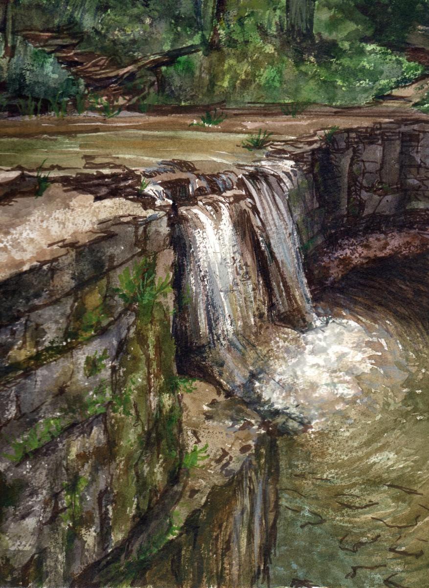 Hidden Falls (large view)