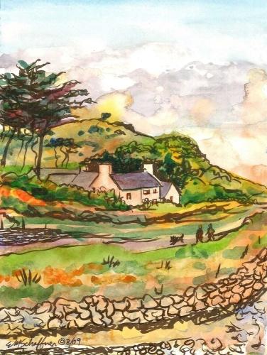New Quay, County Clare, Ireland by Elaine Matt Schaffner