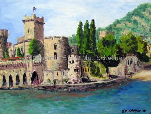 Chateau LaNapoule by Elaine Matt Schaffner