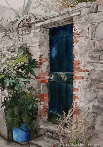 Blue Door, Corniglia