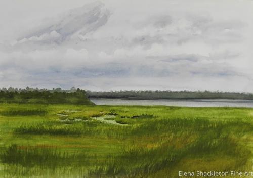 Sea Isle, Marshland