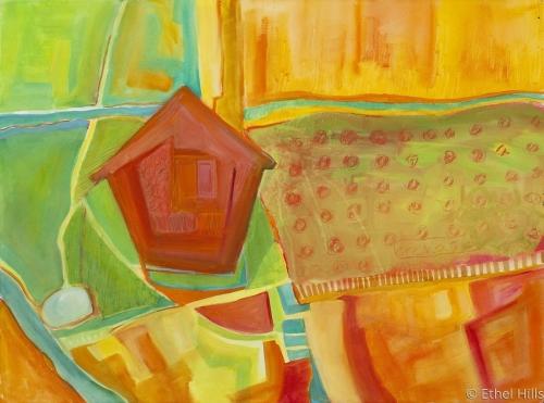 Hills Farm #1 by Ethel Hills