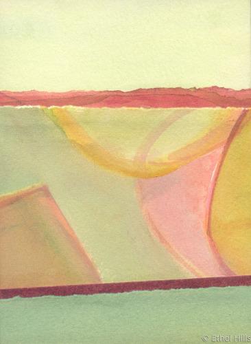 Landscape Progressions #5 by Ethel Hills