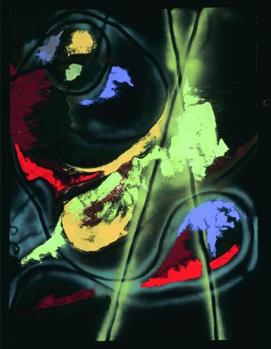 Graffito #2 by Elizabeth Uyehara
