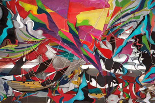 """Flying Colors"" by Eva Gorski"