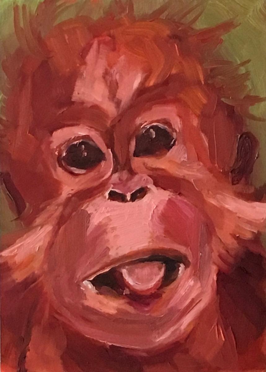 baby orang (large view)