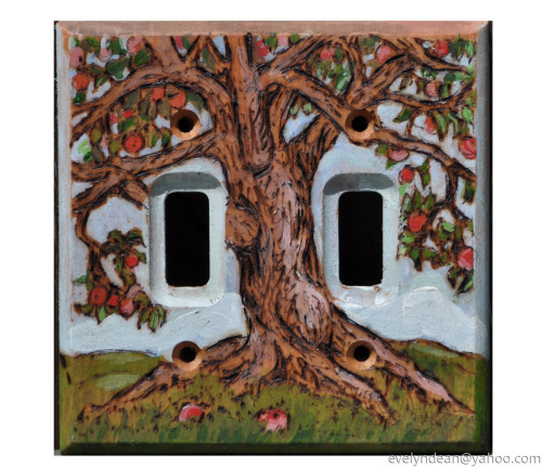 Apple tree Switch Plate