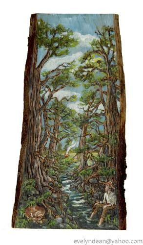 Woodland vison quest