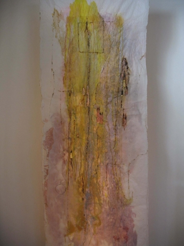 Tissue Paper Paintings/Yellow